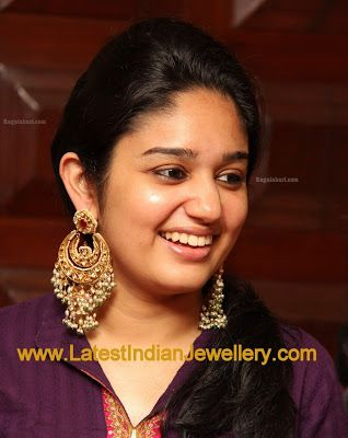 Heavy Antique Gold Chand Bali Earrings | Latest Indian Jewellery Designs