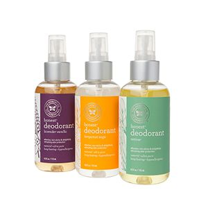 Natural deodorant! The Honest Company has great skin care and natural cleaning products! Jessica Alba is co-founder