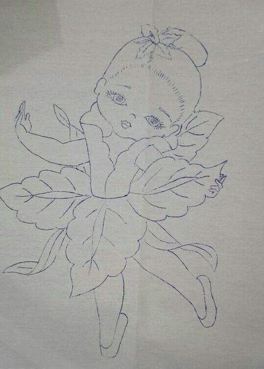 Niña orquídea