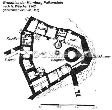 Burg Falkenstein bei Meisdorf und Ballenstedt