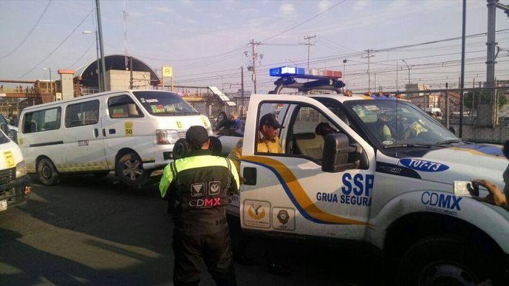 SEMOVI IMPLEMENTA REORDENAMIENTO DE TRANSPORTE PÚBLICO EN CETRAMS DE INDIOS VERDES, TACUBA Y SANTA MARTHA