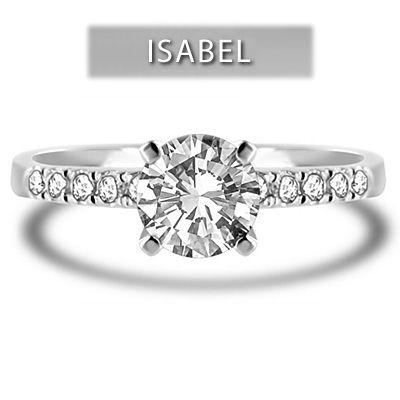 Populaire Les 25 meilleures idées de la catégorie Solitaire diamant sur  IH74