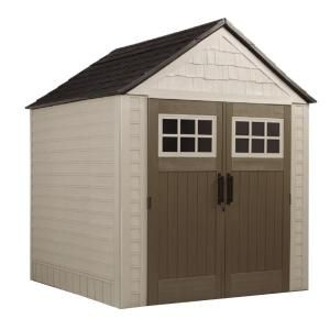 Rubbermaid, 7 ft. x 7 ft. Big Max Storage Shed, 1887154 at The Home Depot - Mobile