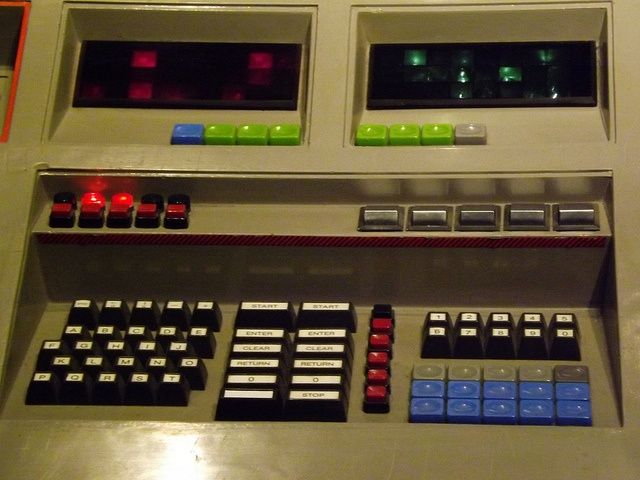 1980s console   Close up of the Console (1980s) by CoasterMadMatt, via Flickr