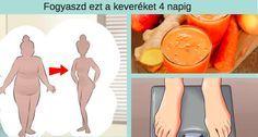 Fogyaszd ezt a keveréket 4 napig, ha szeretnél 5 kilóval kevesebb és 16 centivel karcsúbb lenni, bámulatos! - Bidista.com - A TippLista!