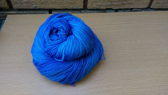 Ready to ship! Colorway - Quickie 4-ply fingering weight yarn  Approximately 460…