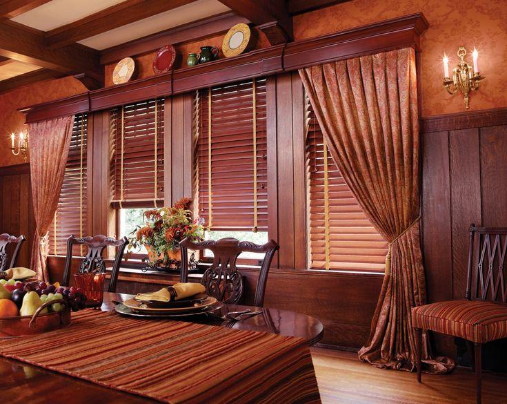 Жалюзи для загородного дома #window #interior #design #decor #beautiful #modern #blinds #curtains