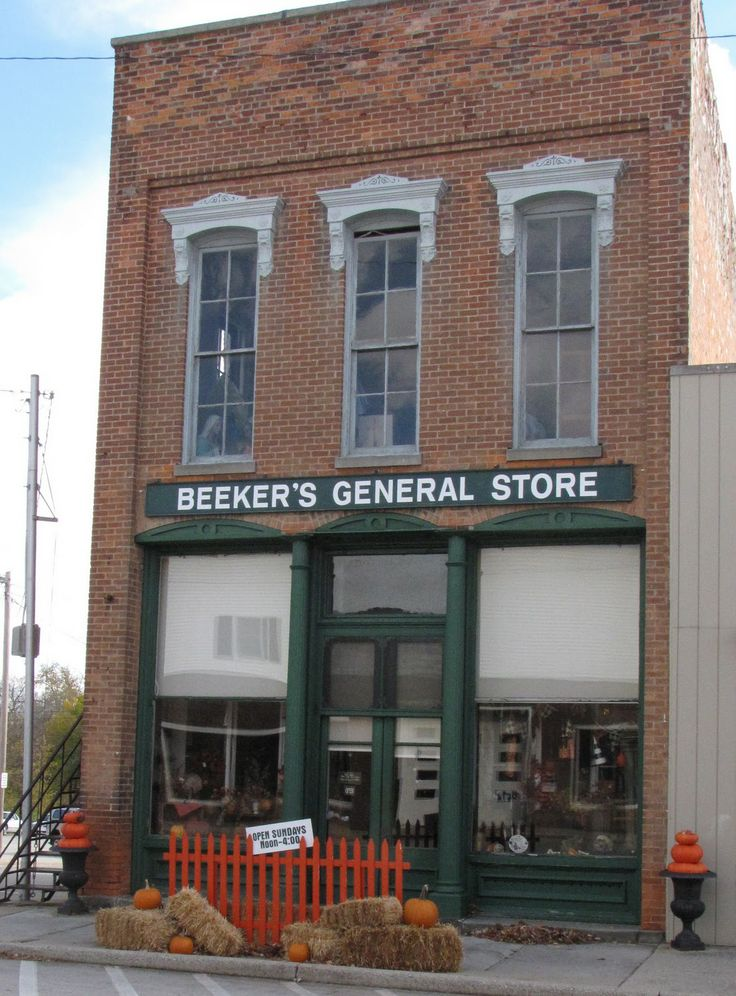old general store front - photo #12