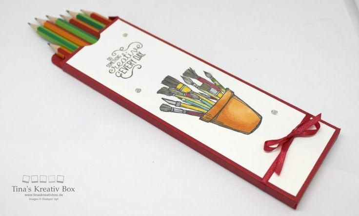 Pootler's Design Team Woche 1 – Bleistift Verpackung - mit Produkten von Stampin' Up!