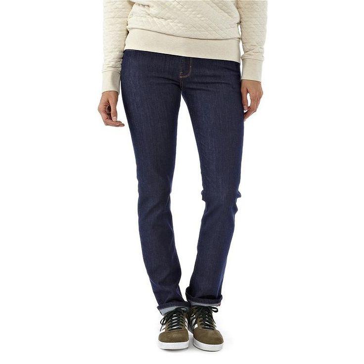 ● PATAGONIA ●  Organic cotton jeans, fair trade sewing, environmentally-friendly company donates 1% of sales to grassroot activists