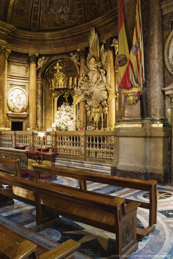 Shrine to Our Lady of the Pillar, Zaragoza, Aragon, Spain