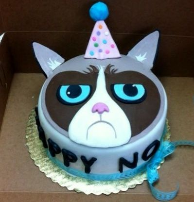 7 best grumpy cat cakes images on Pinterest Grumpy cat cakes Cat