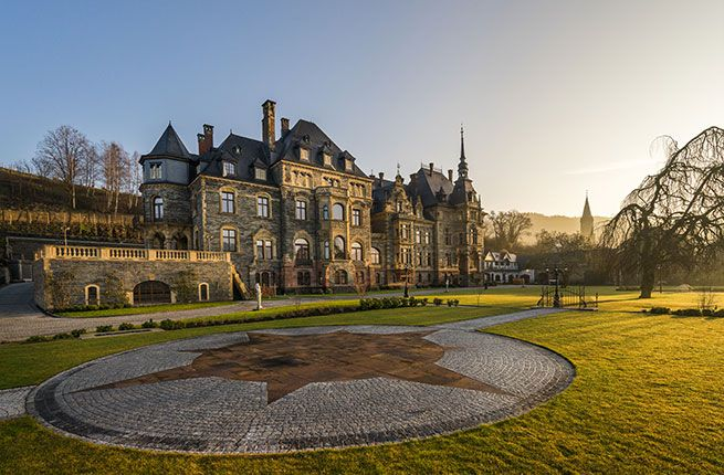 SCHLOSS LIESER Set to open in December 2016 as a five-star grand hotel, this castle has been saved from the ruins in one of Germany's prettiest wine-growing regions, the Mosel Valley