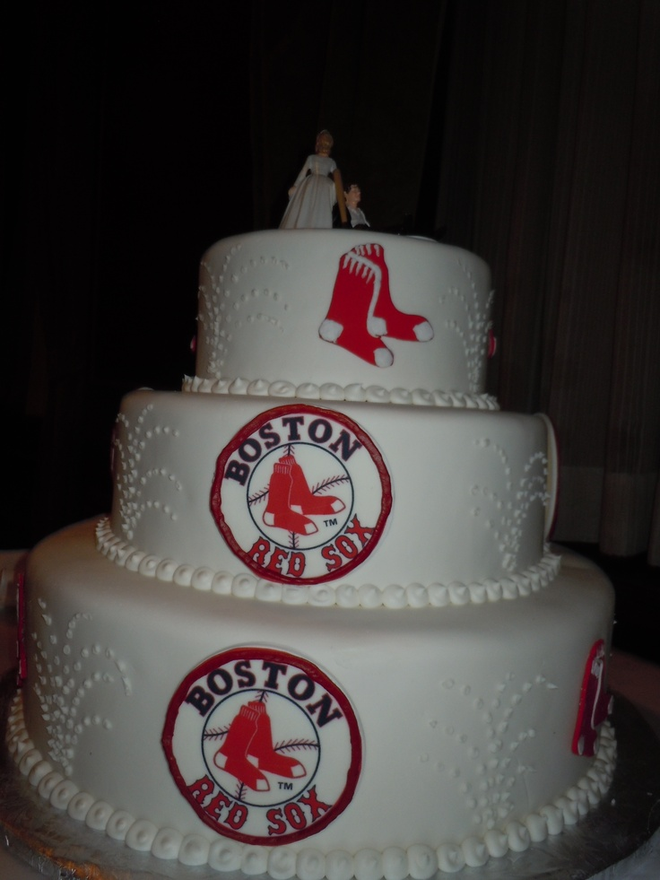 Red Sox Cake Images : 1000+ images about Red sox on Pinterest Boston red sox ...