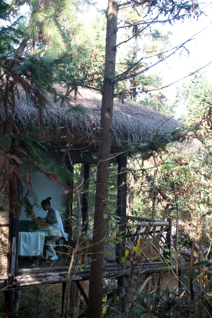 Let our treatment huts be your personal secret retreat.