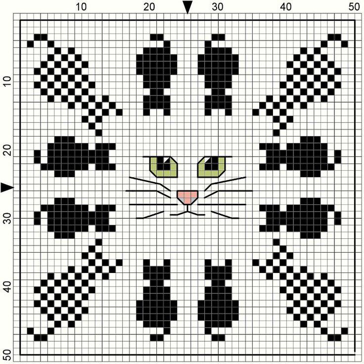 Cat Biscornu