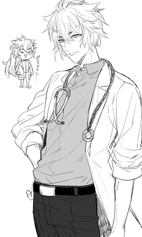 anime doctor coloring pages - photo#10