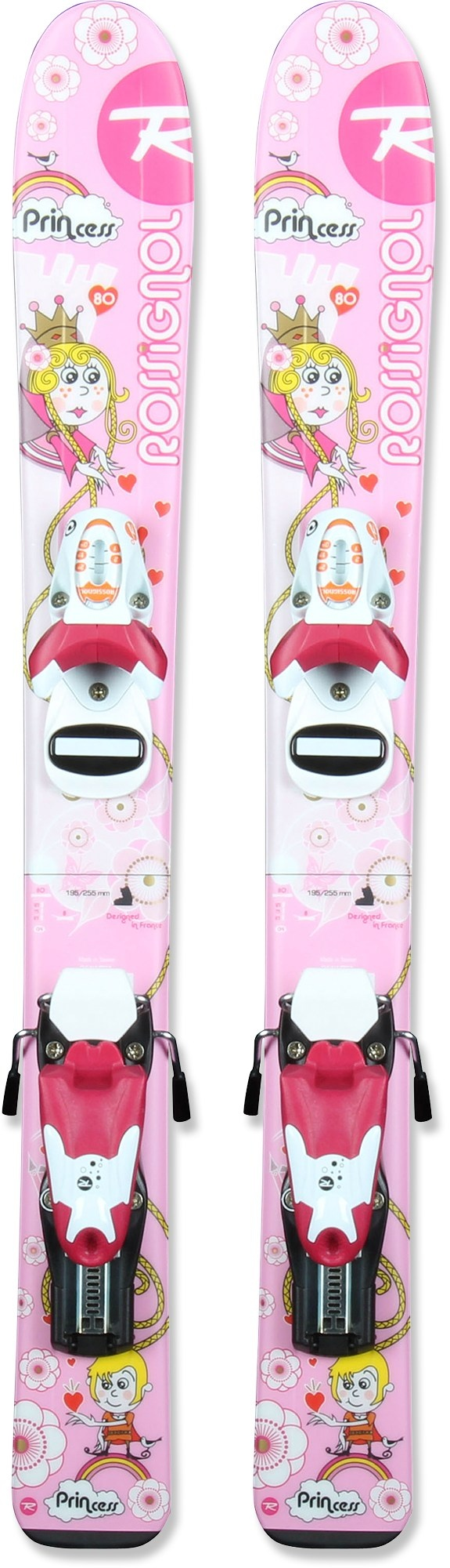 Rossignol Princess Xelium Skis with Bindings - Girls' - 2011/2012 at REI.com