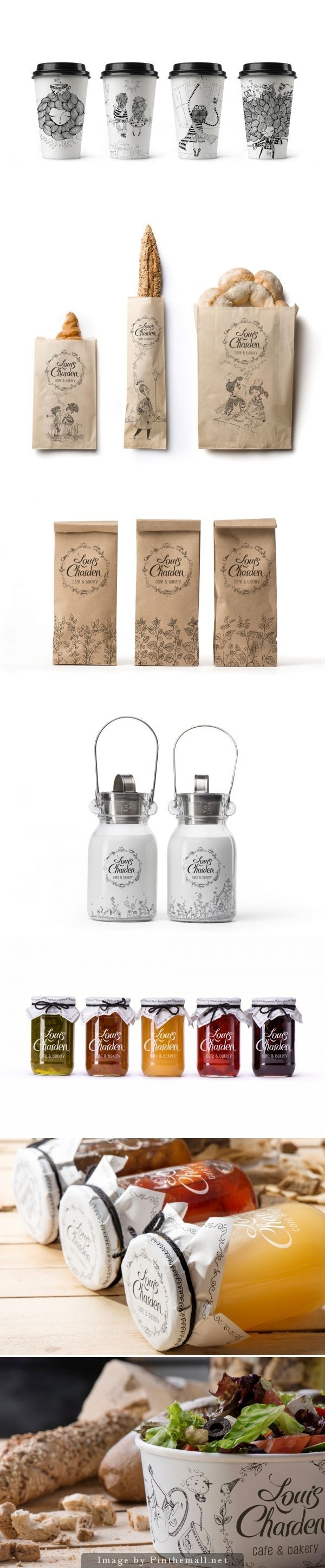 Packaging system / Louis Charden by Backbone Creative.