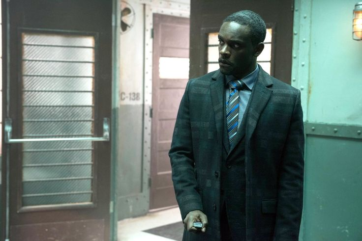 Chris Chalk as Lucius Fox in Gotham (2014)