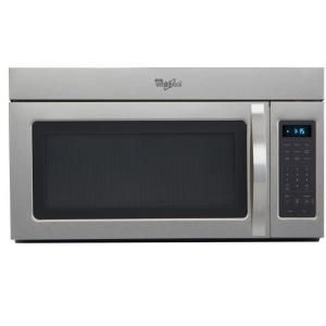 Whirlpool 1.7 cu. ft. Over the Range Microwave in Universal Silver-WMH31017AD at The Home Depot