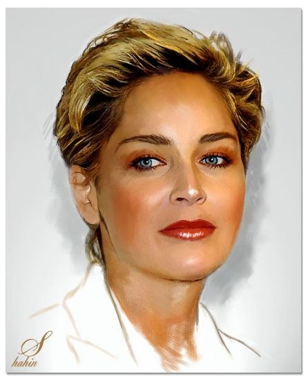 Sharon Stone by shahin