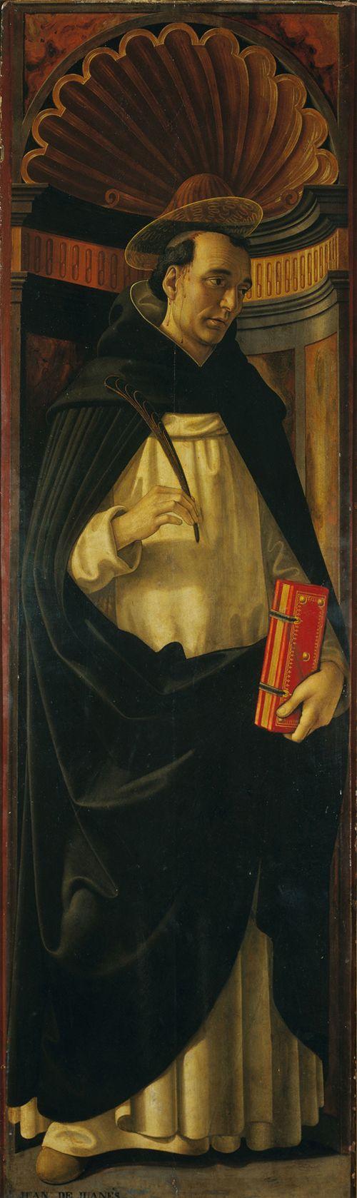 Domenico Ghirlandaio und Werkstatt Hl. Petrus Martyr 1490–98 Fondazione Magnani Rocca, Mamiano di Traversetolo (Parma) © 2013. Foto Scala, Florenz