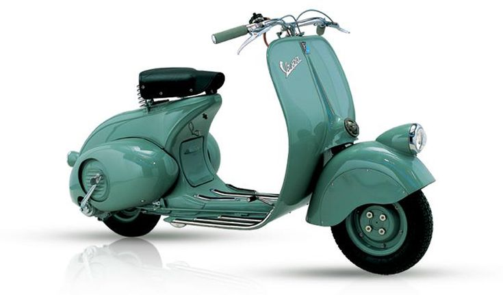 In April 1946, Vespa introduced its first scooter in a Golf Club in Rome. The first sales of Vespa were managed through a small dealer network.
