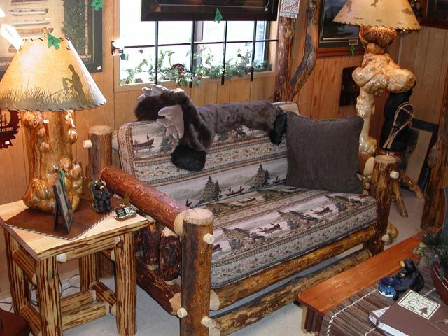 Rustic is just one adjective capable of describing this unique, sturdy, natural rustic log sofa. Mor ...
