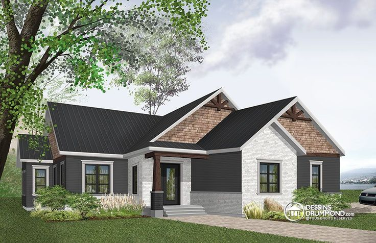 Détail du plan de Maison unifamiliale W3284-CJG