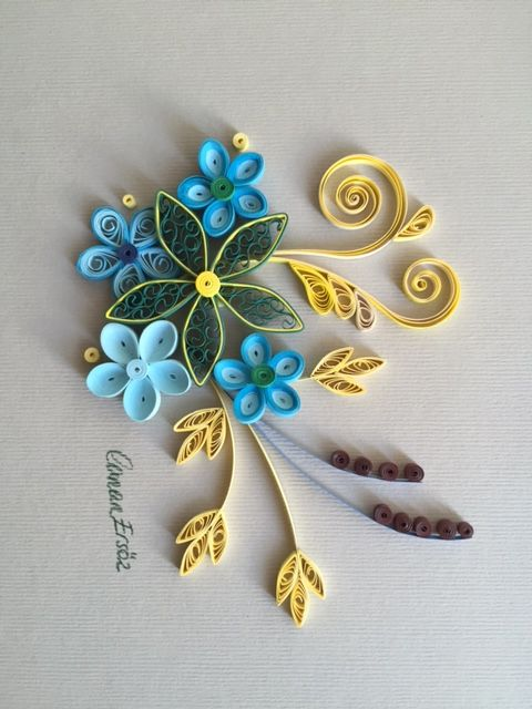 1000 images about quilling on pinterest snowflakes for Big quilling designs