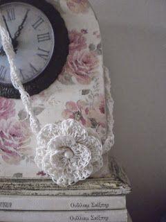 art by tasha: Crochet Neclace