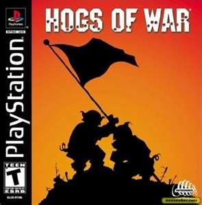 Hogs Of War-(PS1)