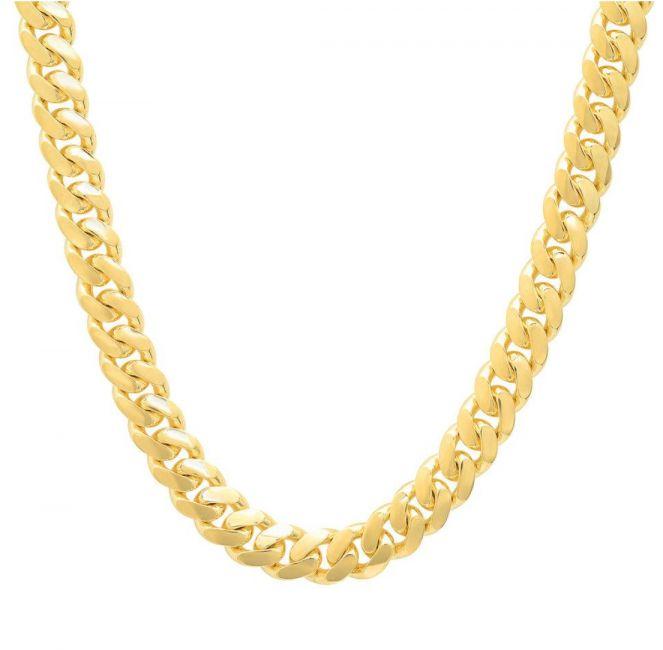 15 14k White Gold Miami Cuban Link Png Miami Cuban Link Gold Cuban Link