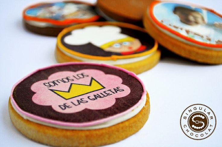 #Galletas #Personalizadas #Regalos #Originales #Bodas #Bautizos #Comuniones http://singularchocolat.com/galletas #Singular #Chocolate
