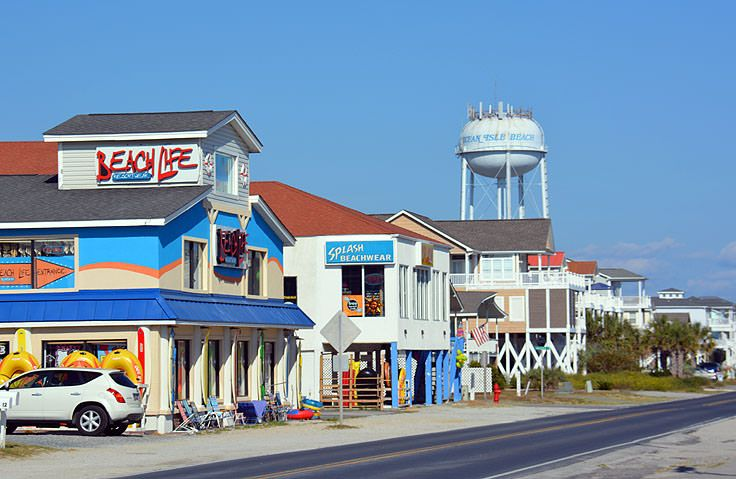 Downtown Ocean Isle Beach