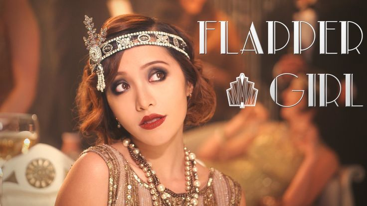 "Gatsby 1920s Flapper Girl Look Like the 20's, from the Great Gatsby? The flapper girls from this era seemed to have it all! From the glitzy dresses to the fabulous parties. This look is inspired by the glamour of the ""roaring 20s"", and it's the perfect look to try this season."