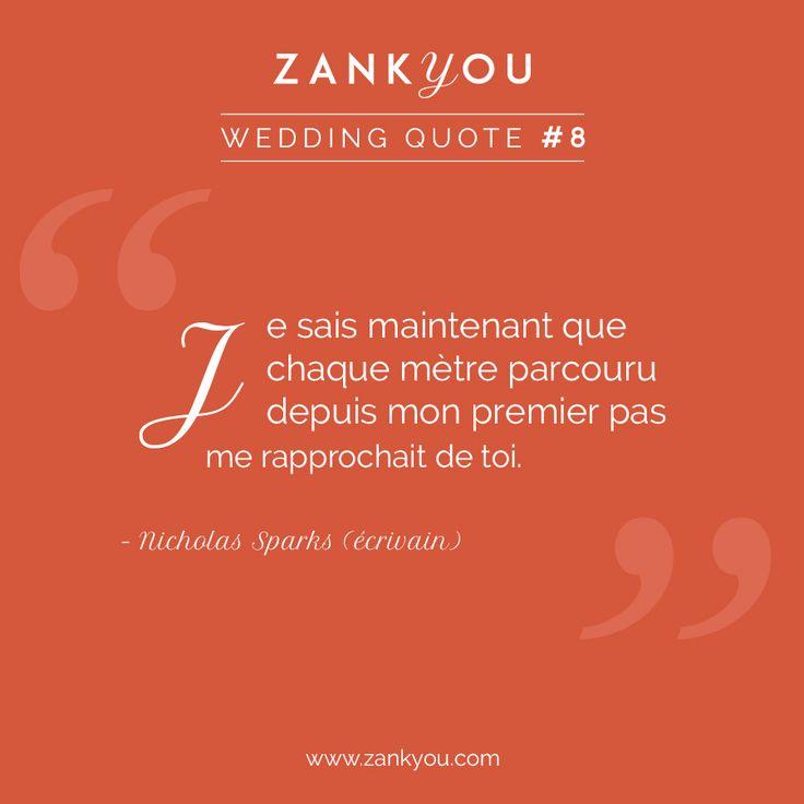 Wedding Quote #8 Marchez tout simplement, et vous le recontrerez ! <3