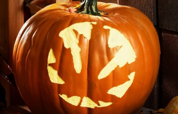 How To Carve A Pumpkin With A Power Tool Pumpkin Carving Carving Pumpkin Carving Games