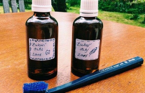 Zubní - multifunkční bylinkový olej | Kosmetika hrou