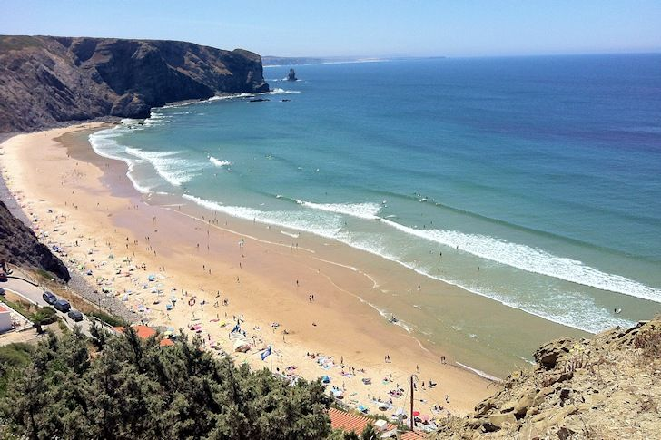8 Beaches in Portugal are among The 100 most beautiful surfing beaches in the world according to Surfertoday.com - List includes: Arrifana beach in Aljezur, Porto Santo in Madeira, Praia do Norte in Nazaré, Ribeira d'Ilhas in Ericeira, Santa Bárbara in Azores, Carrapateira, Guincho, and Zavial.  May 27, 2014