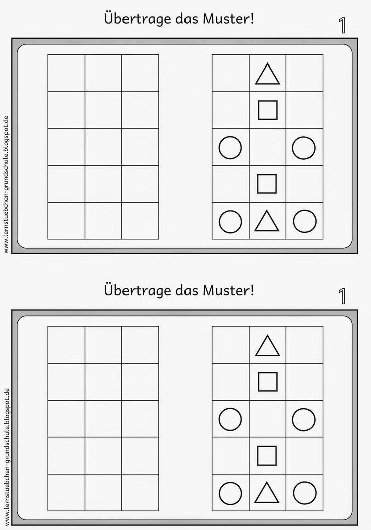 Pattern transfer for left-handers (1)