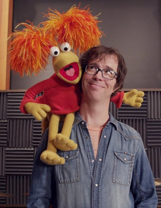 Ben Folds and Red Fraggle