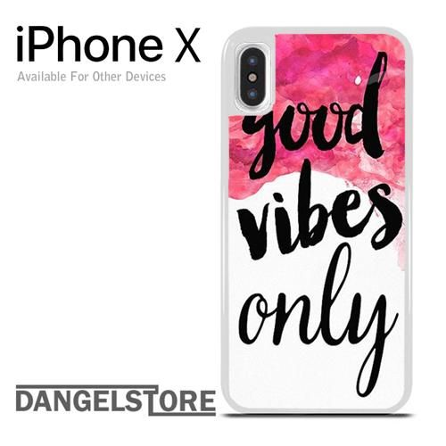 Good vibes quote YP For iPhone X