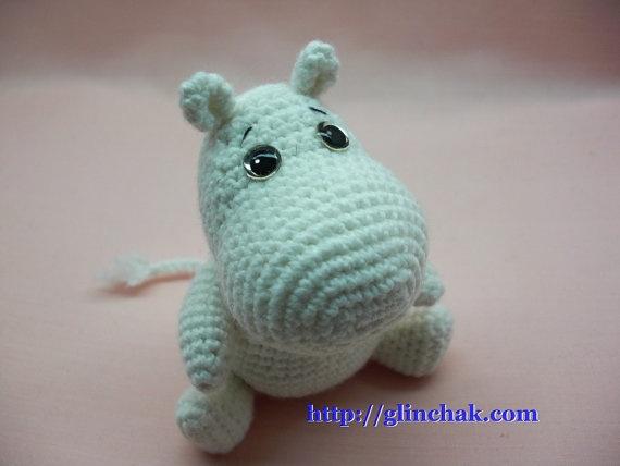 Crochet moomin!