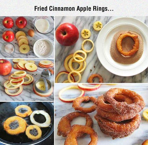 Tasty Apple Rings.