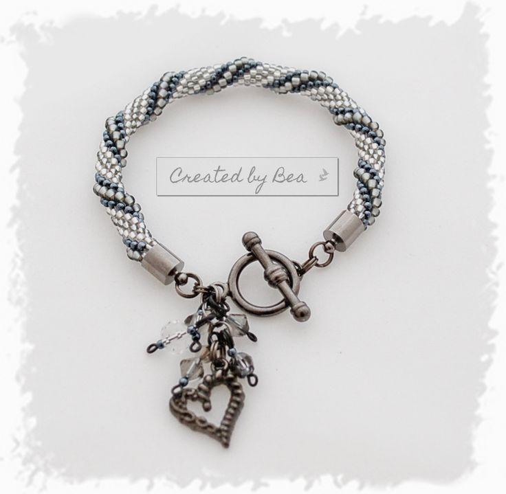 Grey bracelet for my cousin