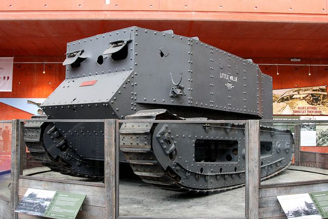 This was the first tank every made and used in world war 1