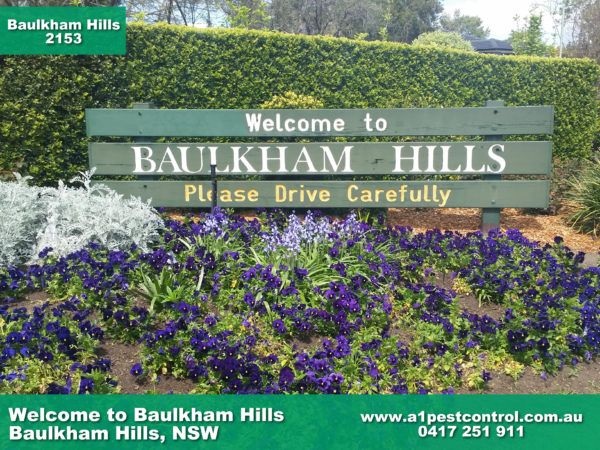 Welcome To Baulkham Hills Sign Baulkham Hills, NSW