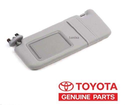 Toyota Camry SunVisor 2007-2011 Gray Driver side Genuine NO SUNROOF. Toyota Camry SunVisor 2007-2011 Gray Driver side Genuine NO SUNROOF.